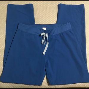 Figs Livingston Scrub Pants Royal Blue